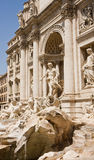 Trevi Fountain From Side Royalty Free Stock Photos