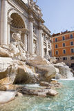 Trevi fountain tourism Royalty Free Stock Photos