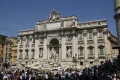 Trevi Foutain Stock Photography
