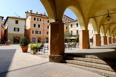 Trevi medieval town in Italy Royalty Free Stock Images