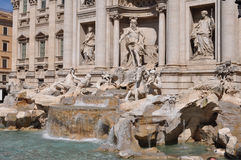 trevi rome фонтана Стоковая Фотография RF