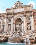 trevi rome фонтана Стоковое Изображение RF