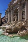 Trevi's fountain - Roma,  Italy Stock Images