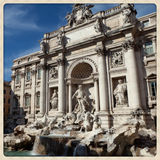 Trevi's Fountain Royalty Free Stock Image