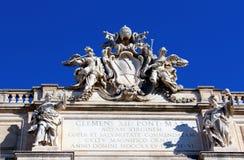 Trevi-springbrunn Royaltyfria Bilder