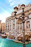 Trevi-springbrunn av Rome Royaltyfri Fotografi