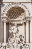 Trevi-springbrunn, den barocka springbrunnen i Rome, Italien Royaltyfria Foton