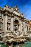 Trevi-springbrunn i Rome Royaltyfri Foto