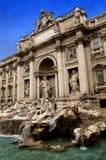 Trevi-springbrunn i Rome Arkivbild