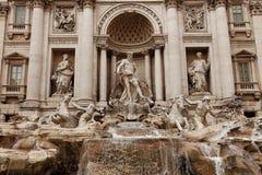 Trevi-springbrunn Rome Royaltyfria Foton