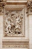 Trevi-springbrunn Rome Arkivfoto