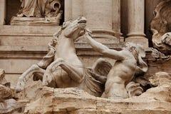 Trevi-springbrunn Rome Royaltyfri Bild