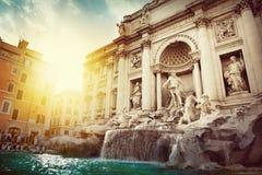 Trevi-springbrunn, Rome Royaltyfria Bilder