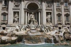 Trevi-springbrunn, Rome, Italien Royaltyfri Foto