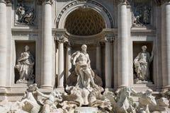 Trevi-springbrunnen Royaltyfri Foto