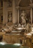 Trevi-springbrunnen, Rome. royaltyfria bilder