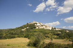 Trevi, Umbria Village Royalty Free Stock Images