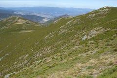 Trevinca-Steigungen Stockbilder