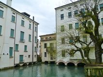 Treviso is the capital of the province of Treviso Royalty Free Stock Photo