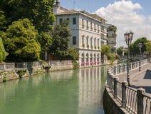 Treviso, cidade Itália Fotos de Stock
