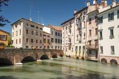 Treviso, cidade Itália Imagem de Stock Royalty Free