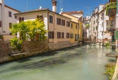 Treviso, città Italia Immagine Stock Libera da Diritti