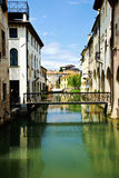 Treviso City. In Italy photo taken in July 2009 Stock Photo