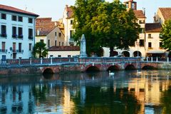 Treviso cityscape Royalty Free Stock Photography