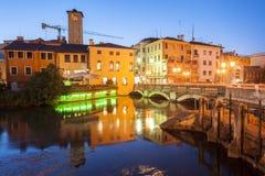 Treviso, ciudad Italia foto de archivo