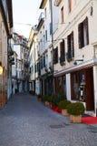 Treviso durante o tempo de inverno, Itália Fotos de Stock