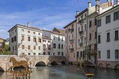 Treviso en Véneto fotos de archivo