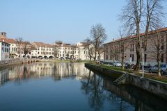 Treviso, Italië, Europa Stock Fotografie