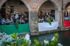 TREVISO, ITALIEN - 13. MAI: Nationalversammlung der alpinen Truppen der italienischen Veterane Lizenzfreie Stockfotografie