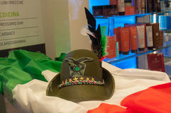 TREVISO, ITALIEN - 13. MAI: Nationalversammlung der alpinen Truppen der italienischen Veterane Lizenzfreies Stockbild