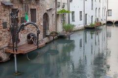 TREVISO ITALIEN - MAJ 13: nationalförsamling av de alpina soldaterna för italienska veteran Fotografering för Bildbyråer