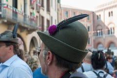TREVISO, ITALY - MAY 13:   national assembly of the italian veterans alpine troops Stock Photos