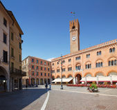 Treviso in Italy / view of the old sqare