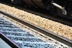 Treviso, linie kolejowe, w Veneto, Włochy Fotografia Royalty Free