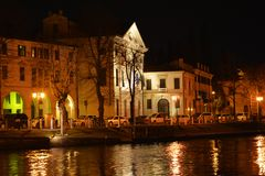Treviso and night view Stock Photo