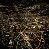 From the airplane royalty free stock photo