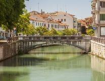 Treviso, stad Italië stock afbeelding