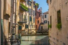 Treviso stad Italien Arkivfoton
