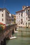 Treviso, Stadt Italien Lizenzfreies Stockbild