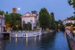 Treviso-Stadt Venetien Stockbild