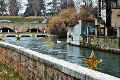 Italy, Treviso città d` arte. stock photo