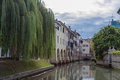 Treviso in Venetien stockbild