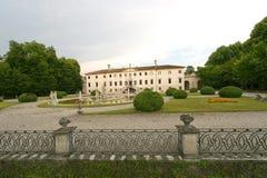 Treviso (Veneto, Italië) - Oude villa royalty-vrije stock foto's