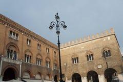 Treviso (Veneto, Italia) - palazzo storico fotografie stock libere da diritti