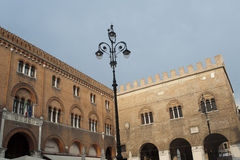 Treviso (Veneto, Italy) - Historic palace Royalty Free Stock Photos