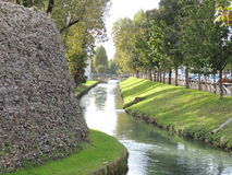 Treviso walls Royalty Free Stock Photography